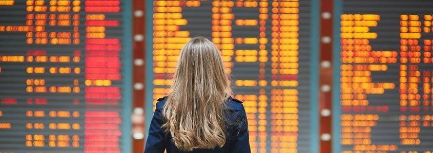 Ką daryti, jei vėluoja ar buvo atšauktas Jūsų skrydis?