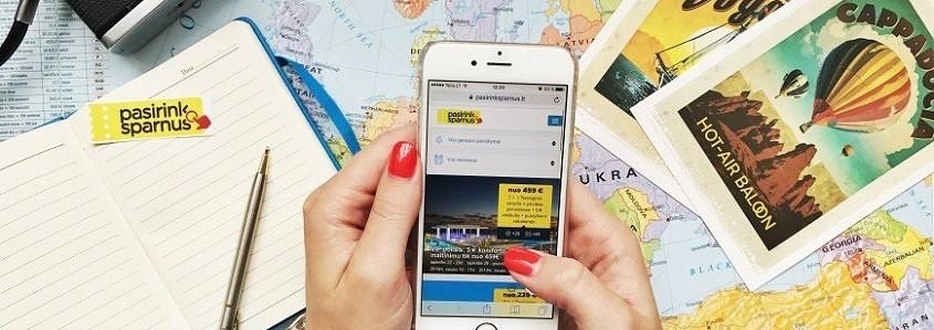 Kokias programėles rekomenduojame turėti savo telefone keliaujant