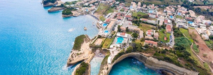 Korfu sala - lyg graikiški Havajai