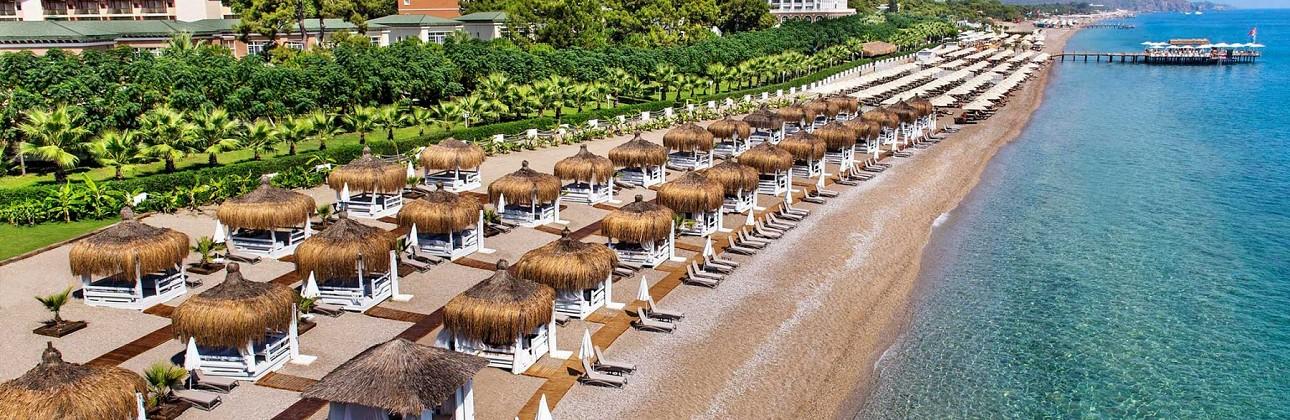 Wow! Prabangios atostogos 5★ Nirvana Dolce Vita viešbutyje su ultra viskas įskaičiuota Kemere, Turkijoje už 814€