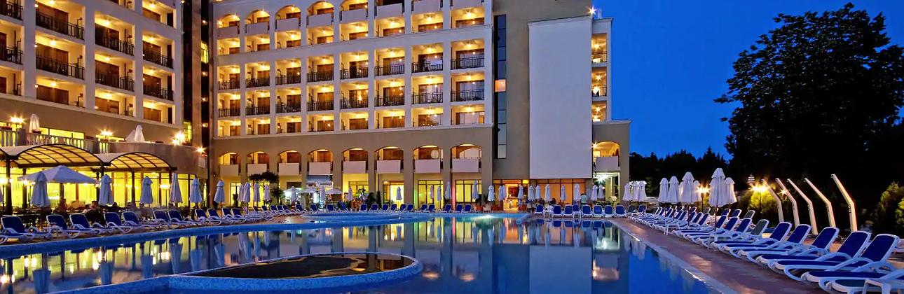 4★ Sol Nessebar Bay & Mare viešbutis su VISKAS ĮSKAIČIUOTA Saulėtame Krante tik 505€