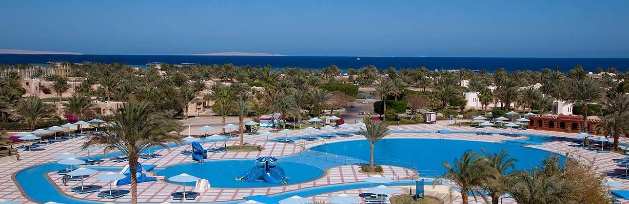 Atostogas leiskite Egipte: 5★ Pharaoh Azur Resort viešbutis su viskas įskaičiuota Hurgadoje vos 501€