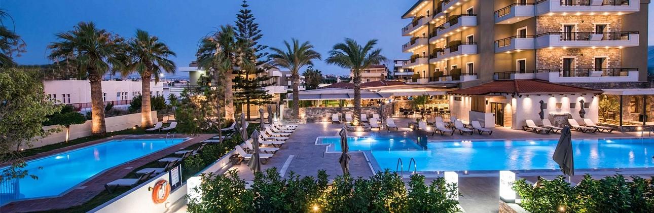 Pavasario atostogos Kretoje: 4★ Petousis Hotel & Suites viešbutis su pasirinktu  maitinimu už 465€