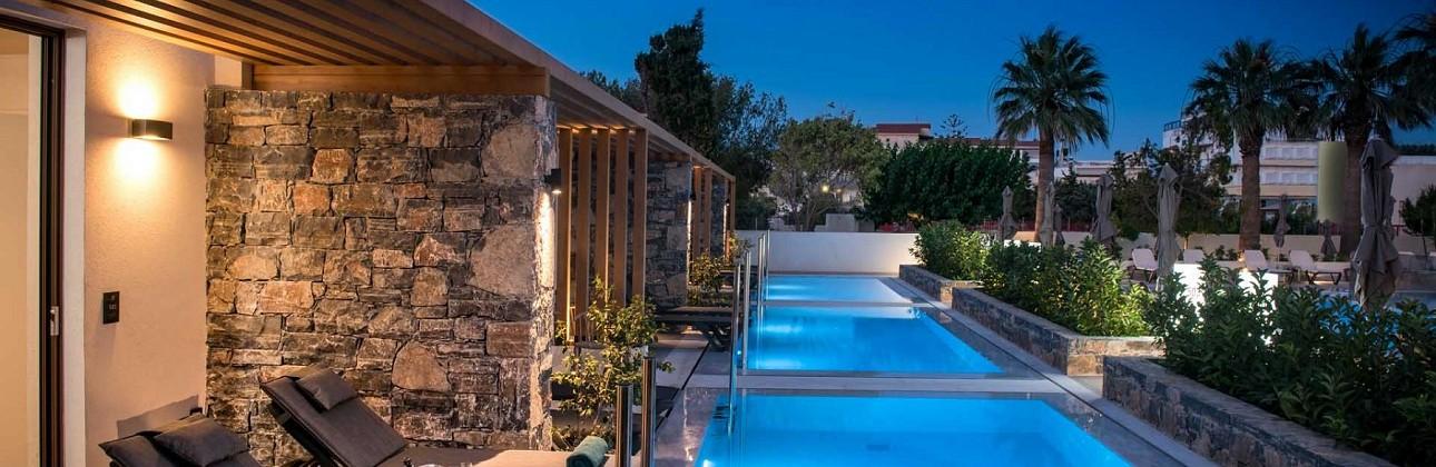 Rudens atostogos Kretoje: 4★ Petousis Hotel & Suites viešbutis su pasirinktu  maitinimu už 509€