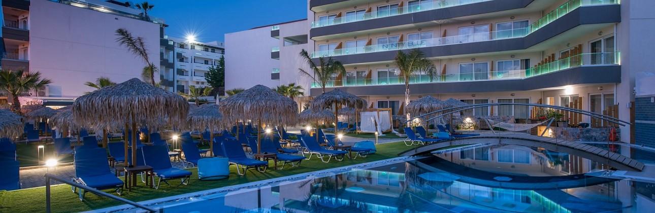 Atostogos Kretoje tik suaugusiems: 4★ Infinity Blue Boutique Hotel & Spa viešbutis su maitinimu už 459€