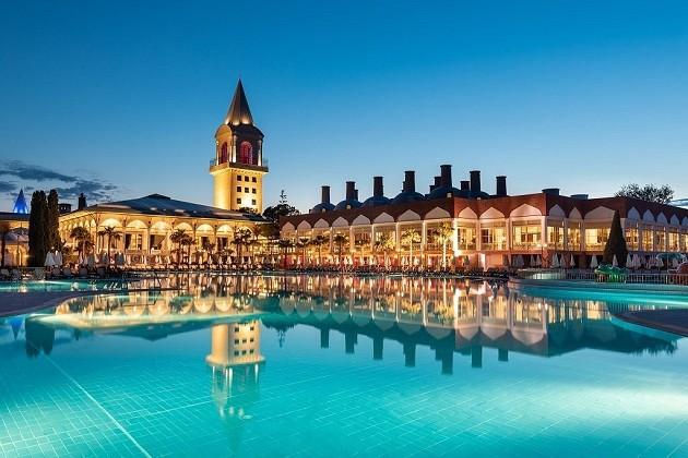 Atostogos Turkijoje: 5★ Swandor Topkapi Palace - geriausias šeimų kategorijoje viešbutis su ultra VISKAS ĮSKAIČIUOTA vos 566€