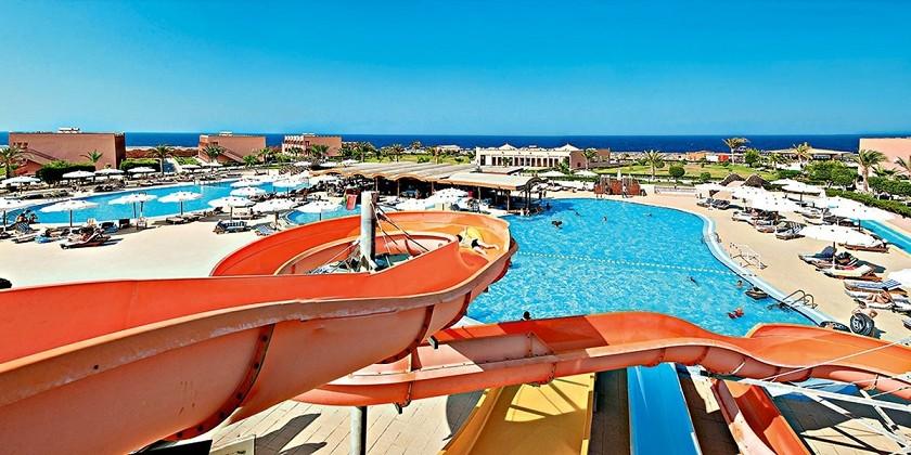 Paskutinė minutė Marsa Alame: savaitė 4★ viešbutyje The Three Corners Happy Life Beach Resort  su viskas įskaičiuota tik